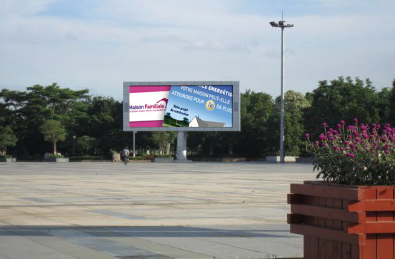 Ecran geant led informations et vente de panneau for Ecran exterieur